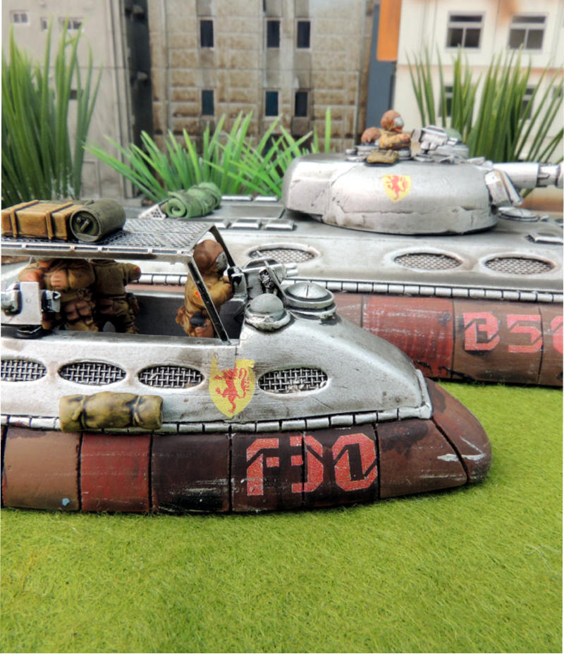 Police Car Website >> The New Slammers Blwer tanks in 15mm by Ainsty Castings