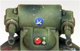 The dangerous end of a Mosquito air-defence system - rapid firing light laser systems with nitrogen cooled barrels