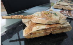 Zentaur heavy tank with overspray camo, drybrushing and stowage added
