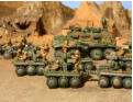 Wrangel's Legion: several WG12 support buggies and a comand vehicle