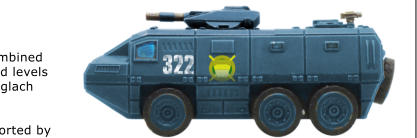 The Centurion Attacker 204 is armed with a 10cm powergun and is used only by the Fianoglach