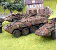 Greenwood's Archers vehicles