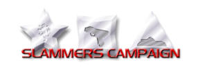 Slammers Campaign Medals Logo