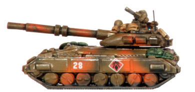 I-M216 Cougar Tank with 10cm CAP main gun and Heavy Support Weapon
