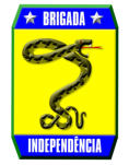 Symbol of the Brigada Independência (Cobras Fumantes)